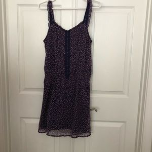 Dress.  Small flowers on it. Excellent condition.